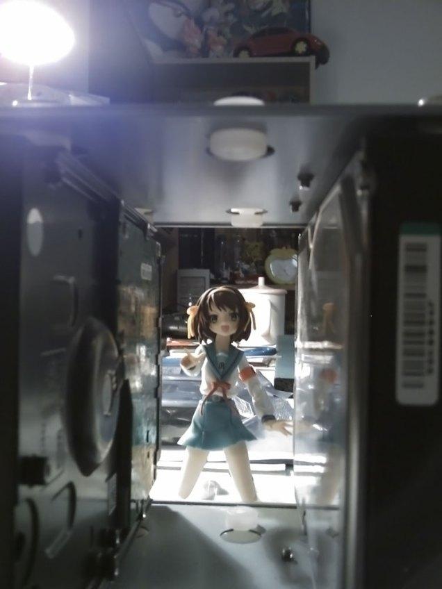 I see you! - Haruhi