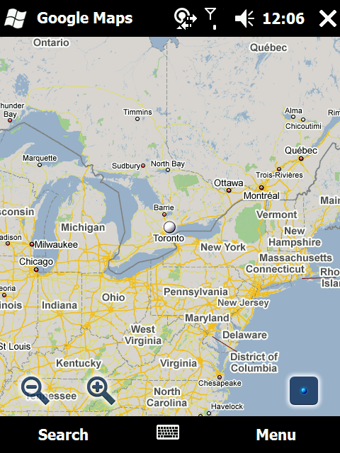 google map, latitude is pretty cool from google